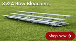 3 & 4 Row Aluminum Bleachers