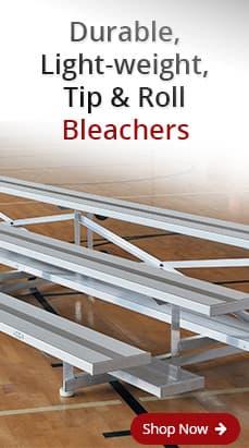 Tip & Roll Aluminum Bleachers