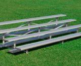 Aluminum 4 Row Bleacher • Seats 40