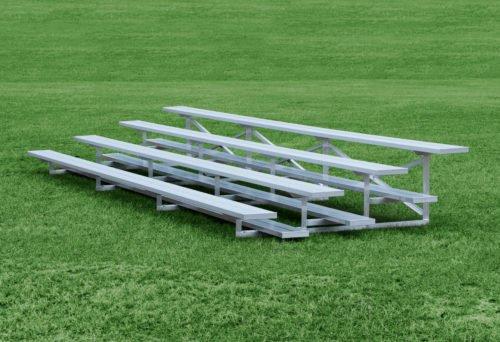 Aluminum 4 Row Bleacher • Seats 56