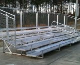 Aluminum Portable 5 Row Bleacher • Seats 94