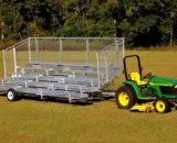 5 Row Transportable Bleacher • Seats 42