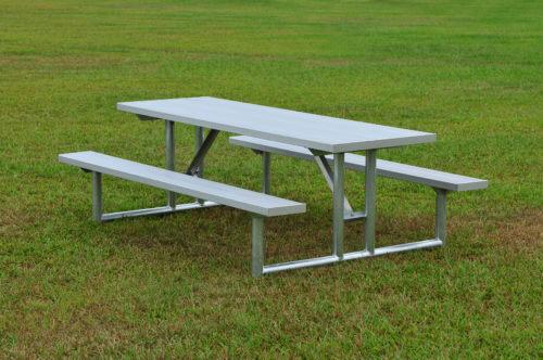 TFGH Length Seats SightlinesBleacherscom - Galvanized picnic table frame