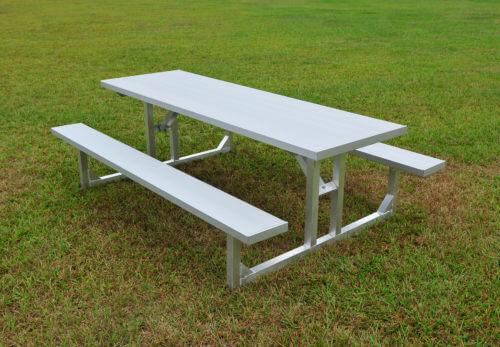 TFS Length Seats SightlinesBleacherscom - Picnic table with backrest