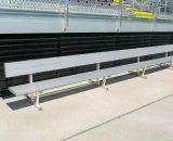 Players Bench   Backrest 21' • Seats 14 a