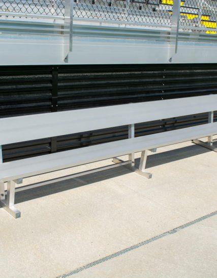 Players Bench | Backrest 21' • Seats 14 a