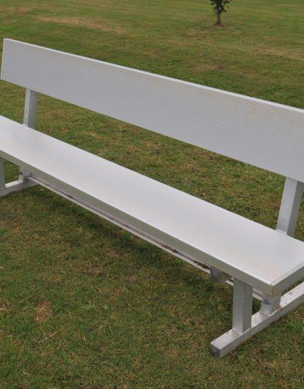 Players Bench | Backrest 6' • Seats 4