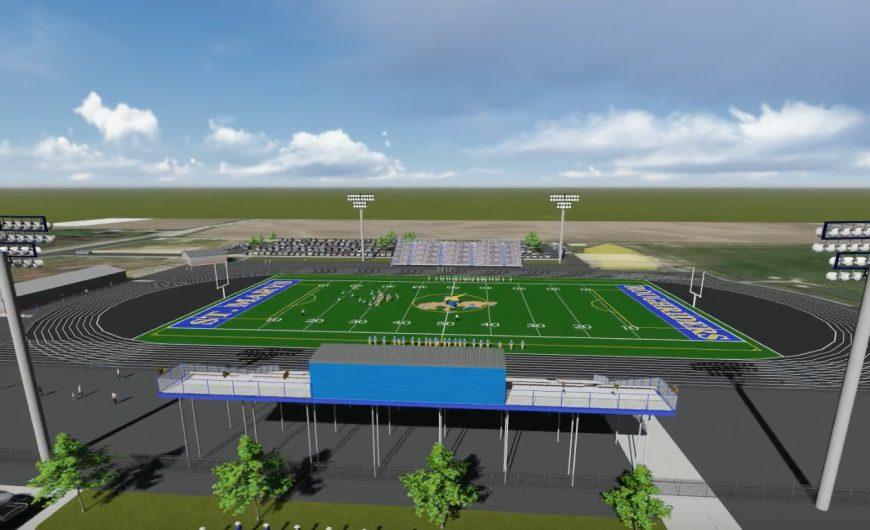 St. Marys High School Awards 4000 Seat Grandstand to SAF